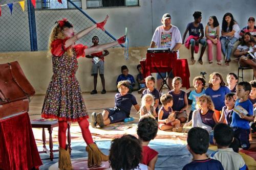 100 apresentações do Que bom que você veio em Martinésia (13)