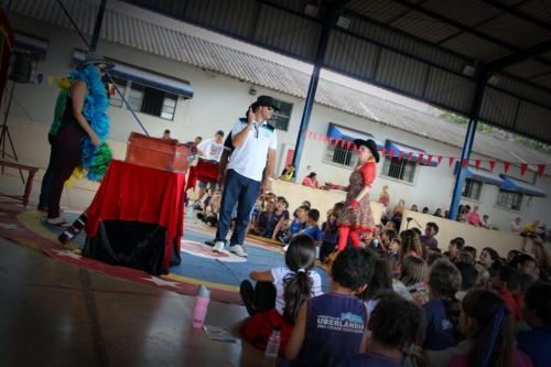 100 apresentações do Que bom que você veio em Martinésia (22)